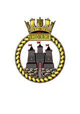 HMS Edinburgh bordado POLOS