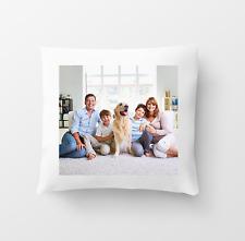 Cubierta Cojín Personalizado personalizado 40cm Impreso Ambos Lados cualquier Foto Imagen Texto