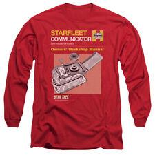 STAR TREK COMM MANUAL T-Shirt Men's Long Sleeve