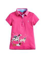 JOULES Tom Joule Poloshirt MOXIE pink mit Hund Gr. 80 - 140  NEU UVP 37,95 Euro