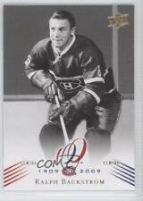 2008 Upper Deck Montreal Canadiens Centennial Set 70 Ralph Backstrom Hockey Card