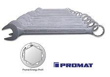 PROMAT RINGMAULSCHLÜSSELSATZ 15° abgewinkelt Energy-Profil 8 oder 12 tlg.
