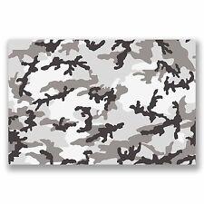 A4 Sheet Camo Sticker Bomb Vinyl Wrap Car Bike Laptop Army Camouflage Cool #9692
