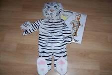 Infant Size 6-12 Months Underwraps White Tiger Halloween Costume New