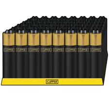 Clipper Classic Original Feuerzeug 'Branded Gold Cap' 1-4 Stück Feuerzeuge NEU
