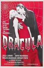A3/A4 SIZE - Dracula Bela Lugosi 1931 Horror Old Movie Film Cinema poster