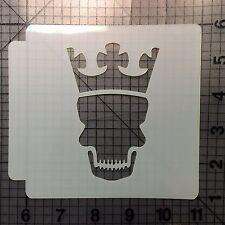 Skull Crown 100 Stencil