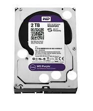 2TB Hard Drive Western Digital Purple WD20PURX HDD
