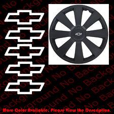 5pc x OUTLINE Chevrolet/CHEVY Bowtie Die Cut Vinyl Decal Wheel Center Cap RC101