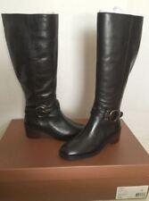 Coach Carolina Black Calf Leather Riding Equestrian Knee High Boot 6, 11