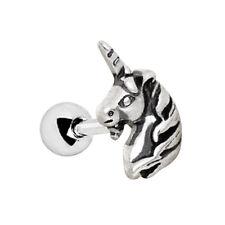 Unicorn Cartilage / Helix Bar - Ear Stud ~ 6mm x 1.2mm - 316L Surgical Steel