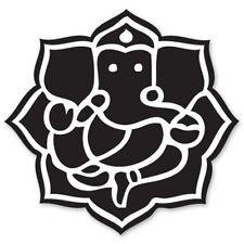 Ganesha Ganesh God Hindu Car Vinyl Sticker - SELECT SIZE