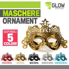 10 MASCHERE ORNAMENT maschera mascherine carnevale veneziane halloween festa