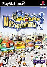 Metropolismania (Sony PlayStation 2, 2002) PS2