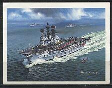 CHROMO BATEAU HMS AIR ROYAL TOM THUMB BRITAIN S