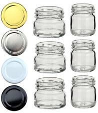 30/40ml Einmachgläser Sturzgläser Marmeladengläser Honig Glas Gläser Einweckglas
