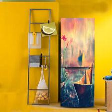 Fridge Door Stickers Removable Vinyl Adhesive Wallpaper Kitchen Decor 2 Size