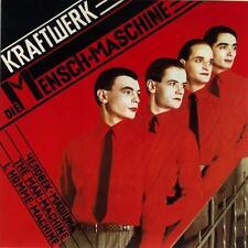 Kraftwerk Die Mensch Maschine Album Cover Stretched Canvas Wall Art Poster Print