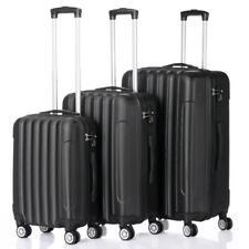 Trolley Case 3-Piece Hardside Lightweight Spinner Luggage Bag Set w/TSA