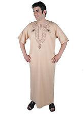 Moderner Herren Kaftan Hauskleid aus1001 Nacht in beige - KAM00533