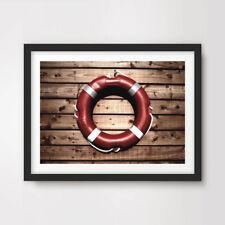 SALVAGENTE Anello Mare Nautica art print poster Home Decor muro foto opera d'arte