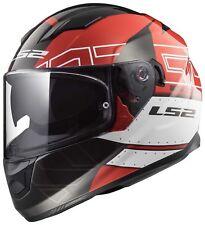 LS2 FF320 STREAM EVO KUB Casque Intégraux Casque Moto Pare-soleil intégré