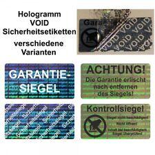 Hologramm VOID Siegel Sicherheitsetiketten / Aufkleber auf Rolle - 40 x 20 mm