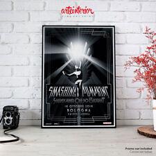 Smashing Pumpkins, Bologna 18 ottobre 2018 | Fine Art Print Poster Manifesto HR