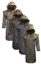 Mens Ladies Waterproof Nylon Long Midland Outdoor Full Length Riding Coat