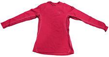 MIZUNO breath thermo raspberry women's long sleeve shirt maglietta termica donna