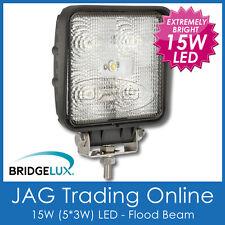 15W LED SQUARE BL FLOOD/WORK LAMP - 4x4/RV/Truck/Driving/Boat/Marine/Deck Light