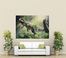 T-Rex Dinosaur Giant 1 Piece  Wall Art Poster AN103