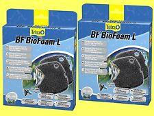 2 Stück Biologischer Filterschwamm BF1200 für Tetra EX Außenfilter1200/1200plus