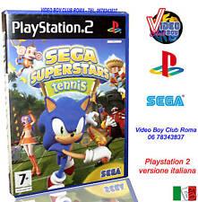 SEGA SUPERSTARS TENNIS GIOCO NUOVO PER SONY PLAYSTATION 2 PS2 EDIZIONE ITALIANA