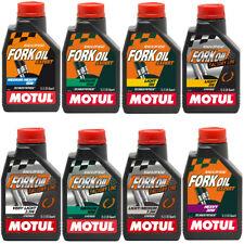 MOTUL FORK OIL OLIO FORCELLE EXPERT / FACTORY LINE 2,5W 5W 7,5W 10W 15W 20W MOTO