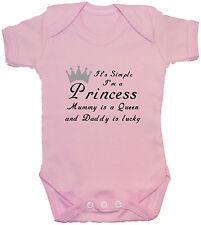 I'm a Princess..Baby Grow/Bodysuit/Romper/T-Shirt Newborn-24m Acce Gift Boy Girl
