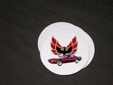NEW 1973 Pontiac Firebird, Formula, and TA soft coaster sets!! (8 available)