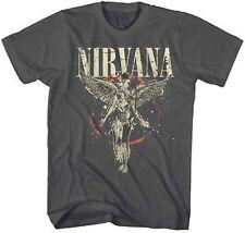 Authentic Nirvana Galaxy In Utero Guitar Rock Music Band Tee Shirt S M L Xl 2Xl