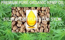 Premium Organic Pure HEMP SEED OIL Cold Press Virgin Raw HempSeed 1 4 8 16 oz/Lb