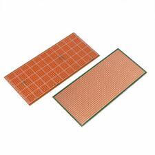 6.5 x14.5cm Stripboard Veroboard PCB Prototype SingleSided Bakelite UK SELLER