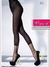 collant donna calze velate Collant Fiore felicia 40 den effetto chiaro scuro