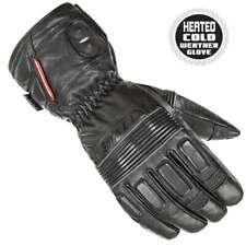 Joe Rocket Heated Leather Rocket Burner Motorcycle Gloves Black Mens All Sizes