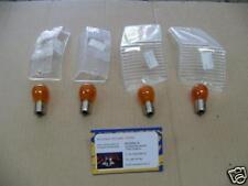 4 LAMPADINE 12-21 12V 21W ARANCIONI GEMME BIANCHE PX