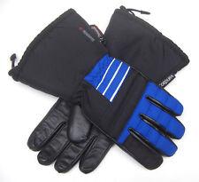 Wintersport Handschuhe blau-schwarz Snowboard Ski Motorradhandschuhe Paar warm