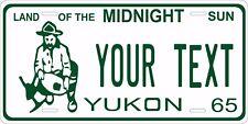 Yukon Canada 1965 License Plate Personalized Custom Car Bike Motorcycle Moped
