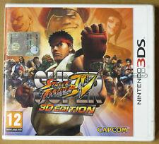 Videogame - Super Street Fighter IV 3D Edition - Nintendo 3DS 3D