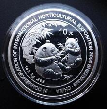 China 2006 Silver 1 Oz Panda Coin - Shenyang Horticultural Expo