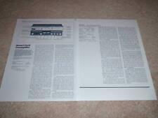 Revox B-252 Vorverstärker Review, 2 PGS, 1984, voll testen, technische Daten