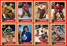 RETRO 1960s 1970s 1980s 1990s NHL Custom Made Hockey Cards U-Pick THICK (Set 1)