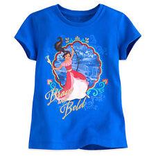 Disney Store Elena de Avalor Pantalla Arte Camiseta Niña Talla 2/3 4 5/6